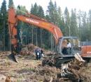 Stumpharvester Pallari KH-160