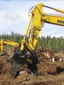 Stump harvester Pallari KHM-140